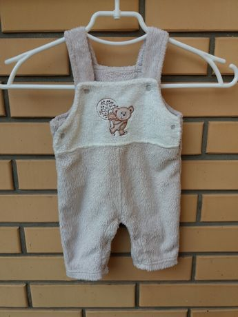 Теплые штанишки, комбинезон на малыша 0-3 мес.