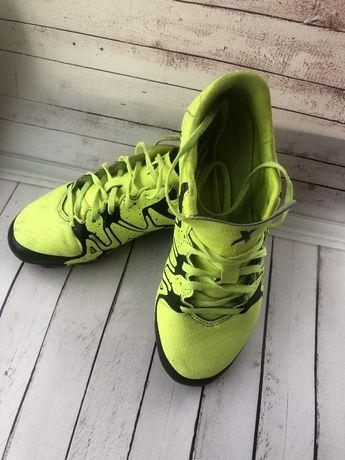 Детские футбольные бутсы Adidas JR X