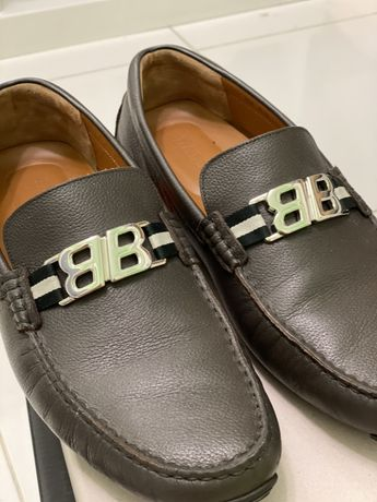 Туфли мокасины Bally