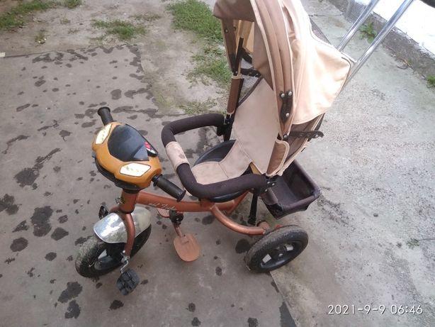 Велосипед триколісний дитячий прогулочний