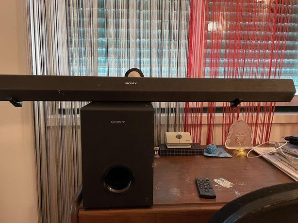 Soundbar sony impecavel