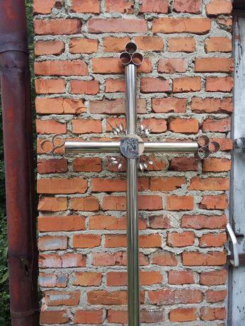 Хрест надмогильний із нержавіючої сталі