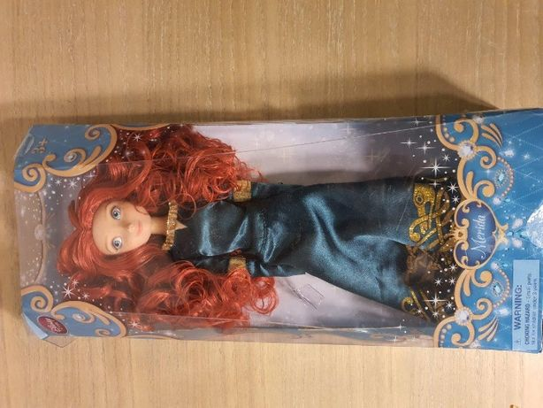 Merida Waleczna lalka Barbie, Disney Store_ księżniczka Disney