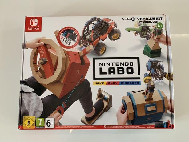 Nintendo Labo Vehicle Kit NOWE Nintendo Switch Możliwa Zamiana