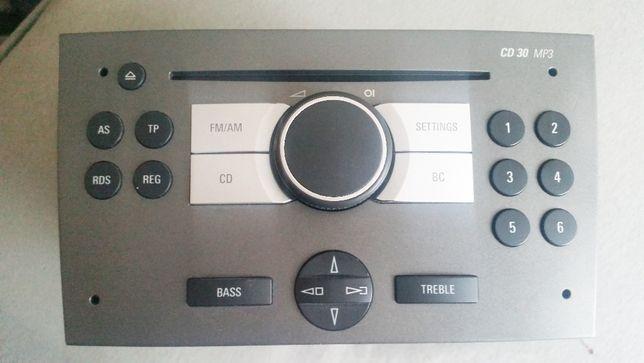 Opel Radio CD30mp3 Vectra C, Signum, Meriva, Corsa C z AUX Wylogowan