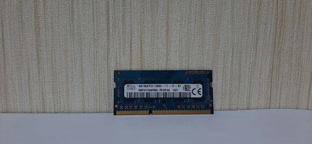 DDR3 4GB skHynix 1600 оперативная память к ноутбуку SODIMM