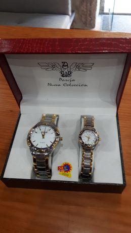 2 Relógios Pareja