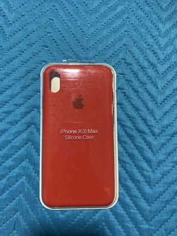 Capa iphone xs max vermelho (NOVA)