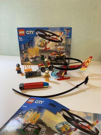 Конструктор LEGO City Пожарный спасательный вертолёт (60248)