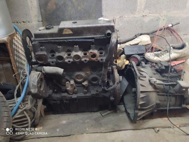Двигатель 1,8 дизель форд с коробкой