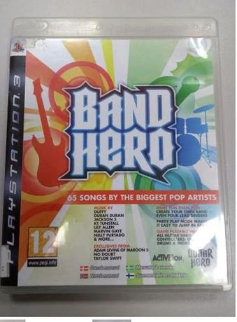 Gra PlayStation3 Band Hero LOMBARD66