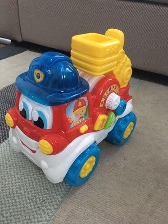 Interaktywny wóz strażacki
