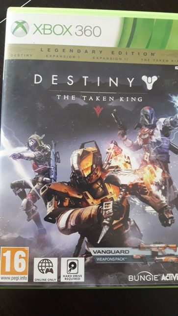 Xbox 360 gra destiny