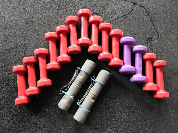 Hantelki fitness 0,5kg 1kg 1,5kg siłownia