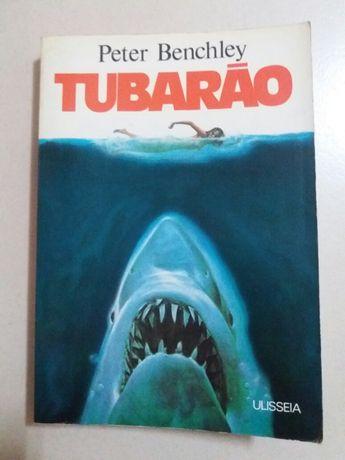 Livro O Tubarão de Peter Benchley (vintage - 1974)