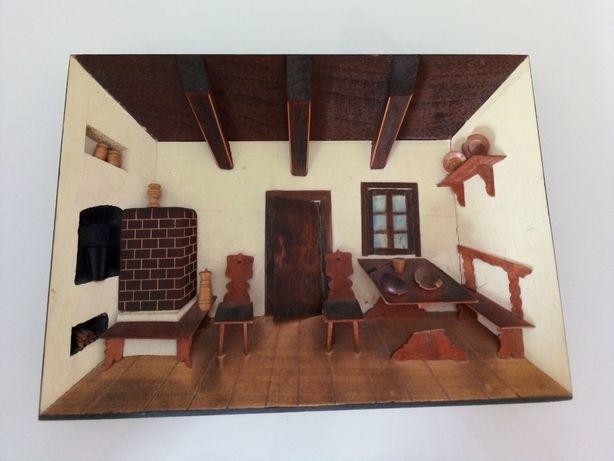 Obrazek Obraz 3D Drewniany