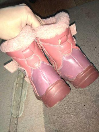 Детские зимние сапоги,сапожки на девочку 26р,зимняя детская обувь