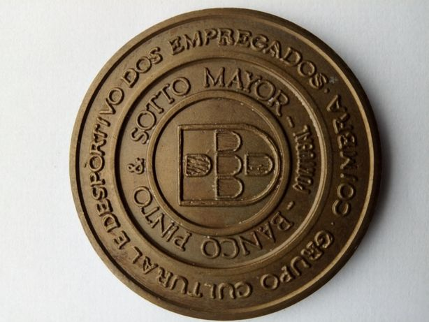 Medalha de bronze.