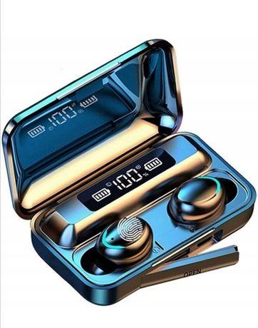 Nowość! Słuchawki Bezprzewodowe TWS BTH F9-5 Powerbank 2000mAh