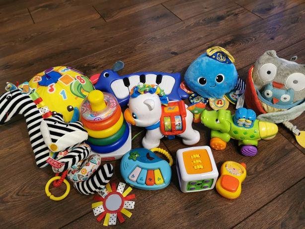 Zestaw firmowych zabawek dla malucha fisher price moms skiphop