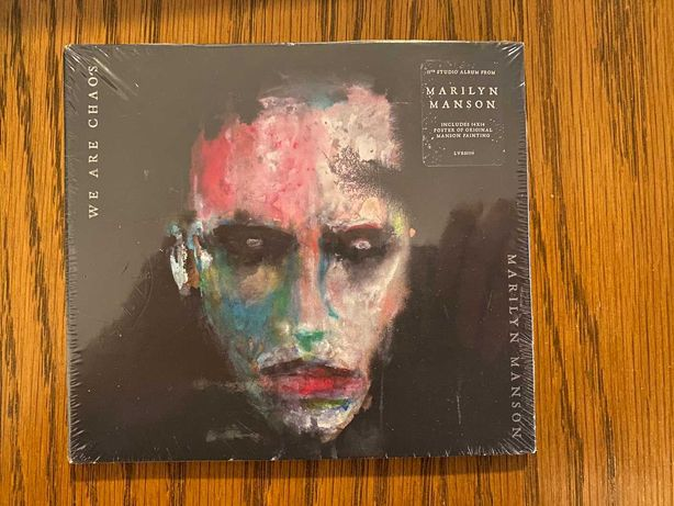 MaRiLyN MaNsOn-We Are Chaos i Heaven Upside Down Obie Płyty NOWE!