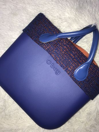 Niebieska torebka obag