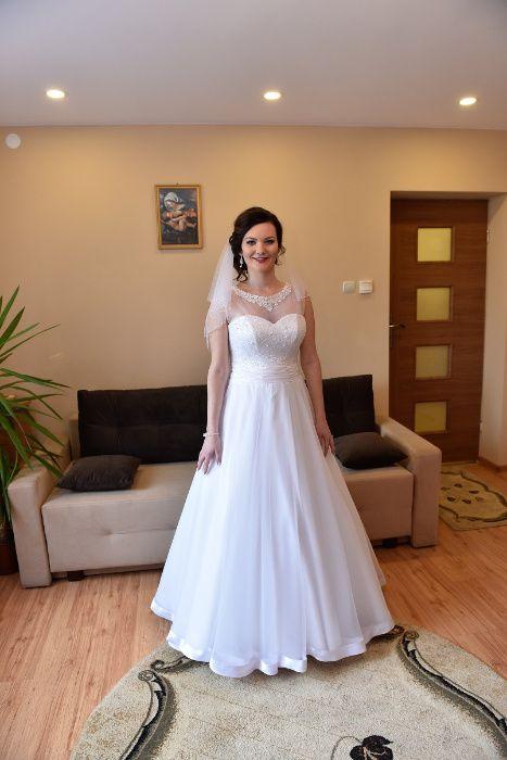 Suknia ślubna roz 42 Rzgów - image 1
