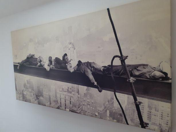 """Obraz 140x70 """"Robotnicy na belce"""" 100% Canvas!!!"""