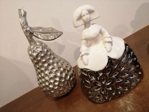 Peças decorativas - Pêra e Boneca