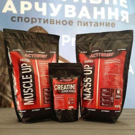 Протеин 2 кг + Гейнер 2 кг+КРЕАТИН! (Польша)
