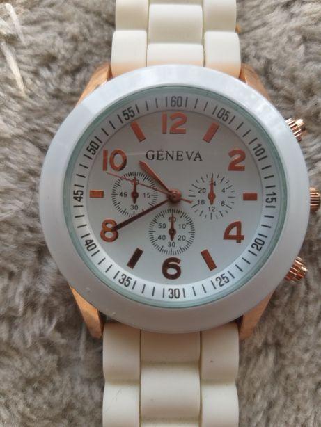 Zegarek Geneva bialy