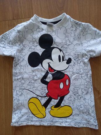Bluzka t-shirt r.110 4-5l f&f myszka Miki