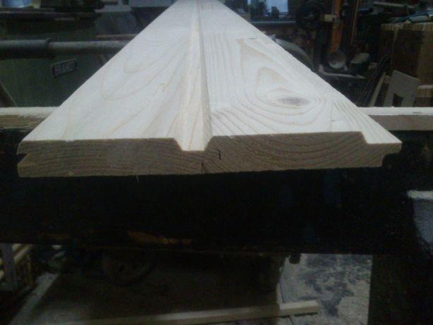 Boazeria szer. 89mm x 19mm 35zł/m2 podbitka deska elewacyjna szalówka