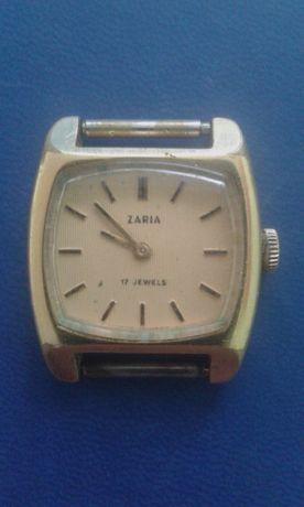 Zegarek damski Zaria 17 kamieni mechaniczny kwadrat radziecki