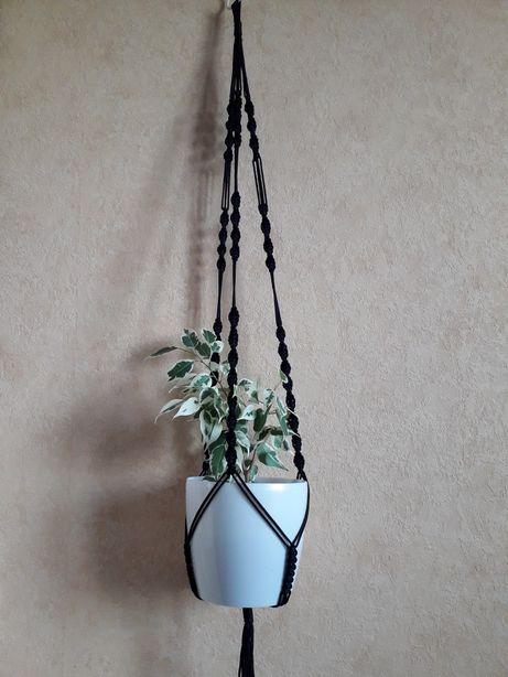 Кашпо для цветов, макраме , подвеска для цветов, декор, кашпо,квіти