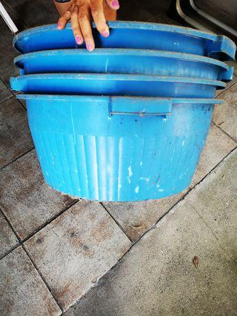 Bacias Plástico - 58cm diâmetro