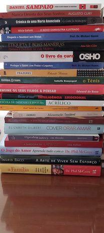 2€ livros variados em bom estado