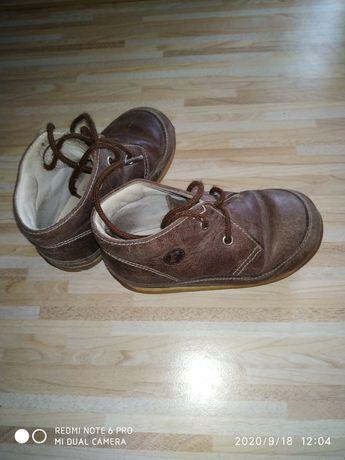 Детские ботинки кожа