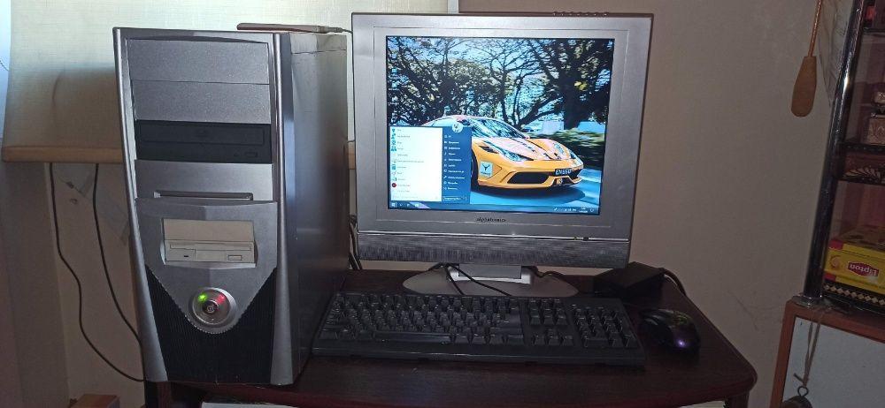 Комп'ютер Intel core 2 duo E6400 для офісу роботи навчання + ТВ Win10.