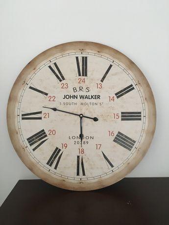 Zegar dworcowy retro duży