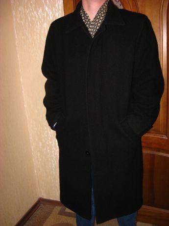 Пальто мужское шерсть кашемир,2в1,осень-зима-весна,классика. р50