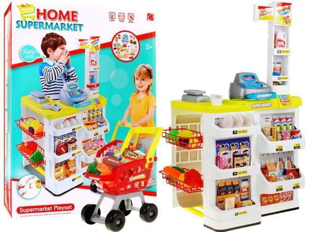 Supermarket Sklep Wózek Seledynowy ZDZ.668-03