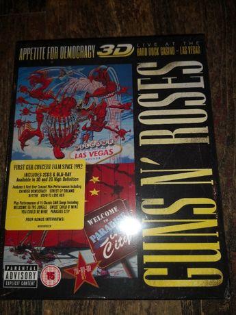 Guns n' Roses Appetite for Democracy 2cd+blu-ray