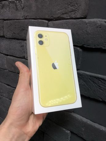 Apple iPhone 11 128 gb Yellow НОВЫЙ! Trade-in с ГАРАНТИЕЙ МАГАЗИНА!