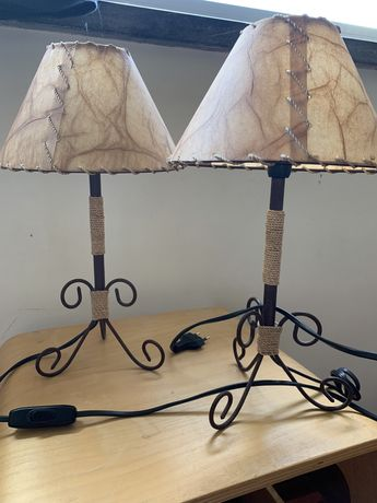 Candeeiros mesa cabeceira