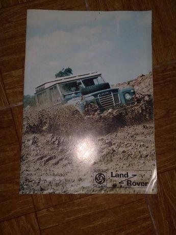 catalogue da land rover antigos em português