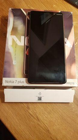 Nokia 7 plus w dobrym stanie wizualnym, sprawny w 100%