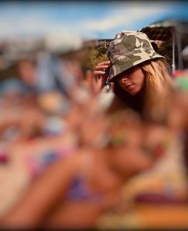 Panamá chapéu Billabong camuflado