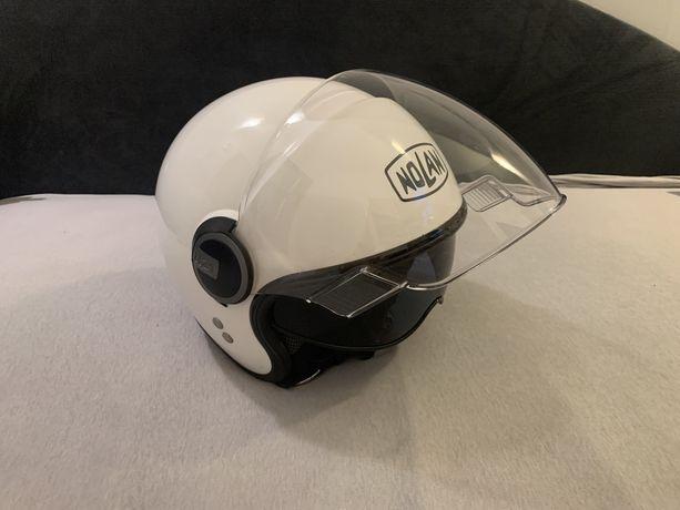 Kask motocyklowy Nolan n21 Visior biały rozmiar M
