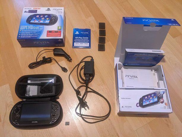 Konsola Sony PlayStation Vita (3G/WiFi) + Karta Pamięci 32GB + Etui
